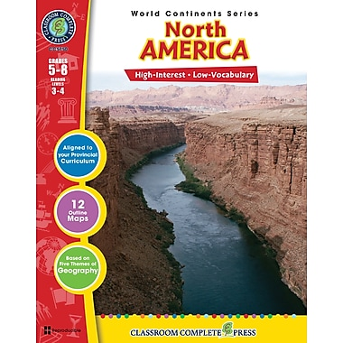 North America, Grades 5-8, ISBN 978-1-55319-308-1