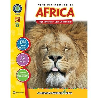 Africa, 5e à 8e années, ISBN 978-1-55319-311-1
