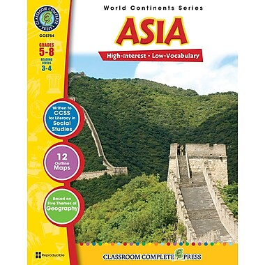 eBook: Asia, Grades 5-8 (PDF version, 1-User Download), ISBN 978-1-55319-312-8