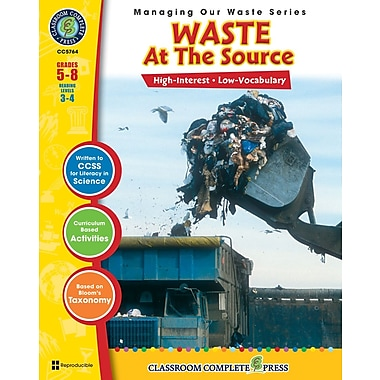 Waste: At the Source, Grades 5-8, ISBN 978-1-55319-301-2