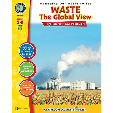 eBook: Waste: The Global View, Grades 5-8 (PDF version, 1-User Download), ISBN 978-1-55319-305-0