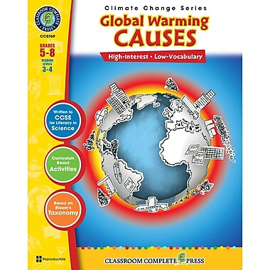 Global Warming: Causes, 5e à 8e années, ISBN 978-1-55319-411-8