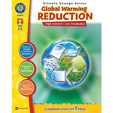 Global Warming: Reduction, anglais, 5e à 8e années, livre num. (téléch. 1 util.), ISBN 978-1-55319-409-5