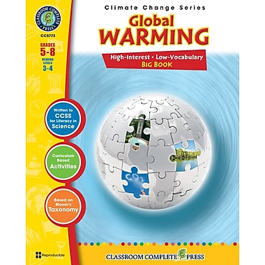 eBook: Global Warming Big Book, Grades 5-8 (PDF version, 1-User Download), ISBN 978-1-55319-408-8