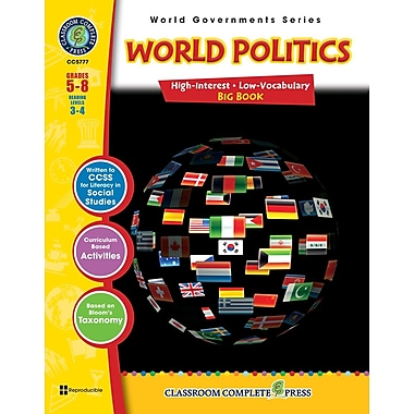 World Politics Big Book, 5e à 8e années, ISBN 978-1-55319-412-5