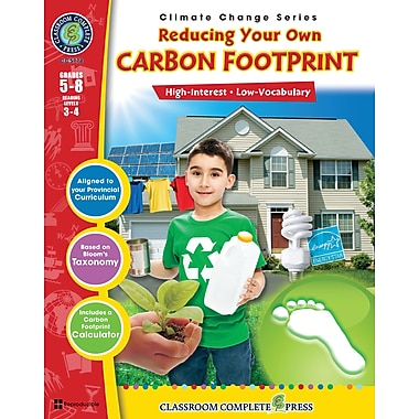 Reducing Your Own Carbon Footprint, 5e à 8e années, ISBN 978-1-55319-476-7