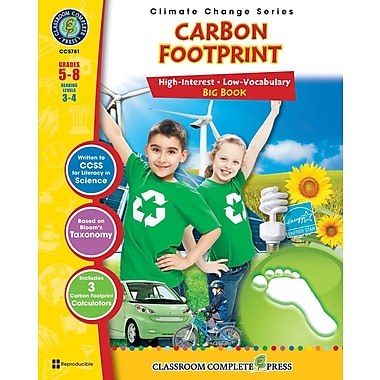 Carbon Footprint Big Book, Grades 5-8, ISBN 978-1-55319-479-8