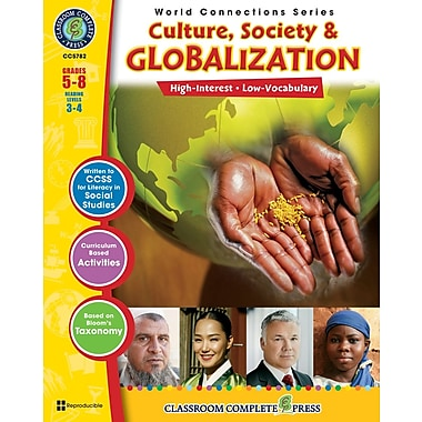 Culture, Society & Globalization, 5e à 8e années, ISBN 978-1-55319-480-4