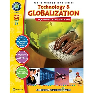 Technology & Globalization, Grades 5-8, ISBN 978-1-55319-482-8