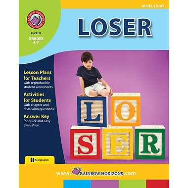 Loser - Novel Study, Grades 4-7, ISBN 978-1-55319-441-5