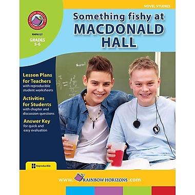 eBook: Something Fishy at Macdonald Hall - Novel Study, Grades 5-6 (PDF version, 1-User Download), ISBN 978-1-55319-096-7