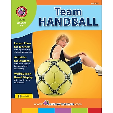 eBook: Team Handball, Grades 4-6 (PDF version, 1-User Download), ISBN 978-1-55319-099-8