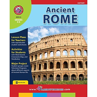 eBook: Ancient Rome, Grades 4-6 (PDF version, 1-User Download), ISBN 978-1-55319-086-8