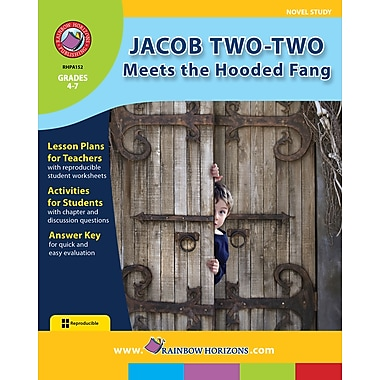 Jacob Two-Two Meets the Hooded Fang - Novel Study, 4e à 7e années, ISBN 978-1-55319-413-2