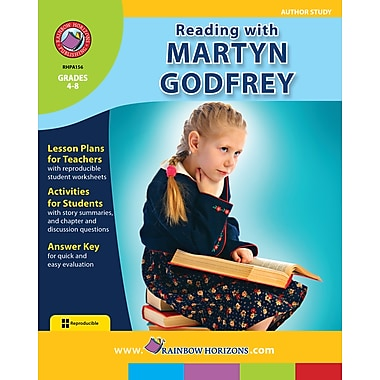 eBook: Reading with Martyn Godfrey - Author Study, Grades 4-8 (PDF version, 1-User Download), ISBN 978-1-55319-416-3