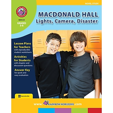 Macdonald Hall: Lights, Camera, Disaster - Novel Study, 5e et 6e années, livre num. (téléch. 1 util.), ISBN 978-1-55319-564-1