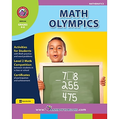 eBook: Math Olympics, Grades 4-6 (PDF version, 1-User Download), ISBN 978-1-55319-165-0