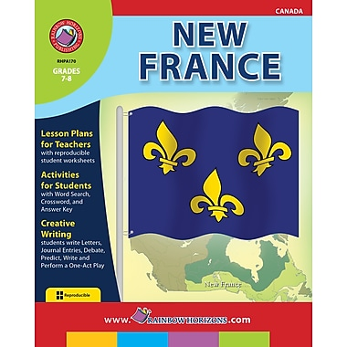 eBook: New France, Grades 7-8 (PDF version, 1-User Download), ISBN 978-1-55319-195-7