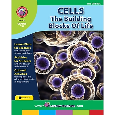 Cells: The Building Blocks of Life, Grades 7-8, ISBN 978-1-55319-190-2