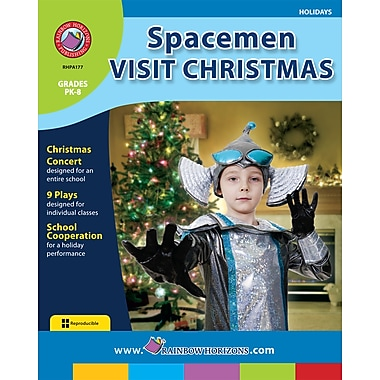 Spacemen Visit Christmas, Grades PK-8, ISBN 978-1-55319-175-9