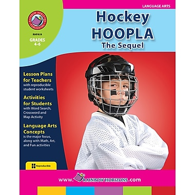 Hockey Hoopla: The Sequel, Grades 4-6, ISBN 978-1-55319-063-9