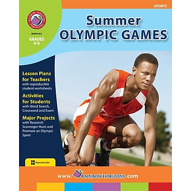 eBook: Summer Olympic Games, Grades 4-6 (PDF version, 1-User Download), ISBN 978-1-55319-194-0