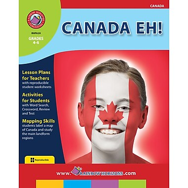 eBook: Canada Eh!, Grades 4-6 (PDF version, 1-User Download), ISBN 978-1-55319-016-5