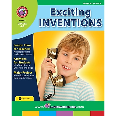 Exciting Inventions, 4e à 8e années, ISBN 978-1-55319-139-1