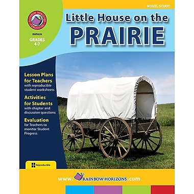 Little House on the Prairie - Novel Study, Grades 4-7, ISBN 978-1-55319-453-8