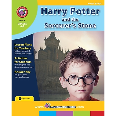 eBook: Harry Potter and the Sorcerer's Stone - Novel Study, Grades 4-8 (PDF version)