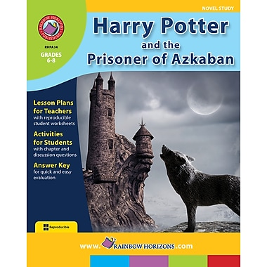 Harry Potter and the Prisoner of Azkaban - Novel Study, Grades 4-8, ISBN 978-1-55319-129-2