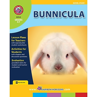 eBook: Bunnicula - Novel Study, Grades 4-7 (PDF version, 1-User Download), ISBN 978-1-55319-039-4