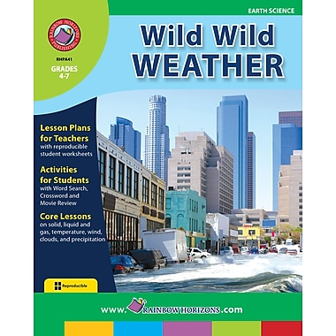 eBook: Wild Wild Weather, Grades 4-7 (PDF version, 1-User Download), ISBN 978-1-55319-004-2