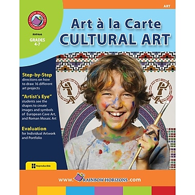 eBook: Art A La Carte: Cultural Art, Grades 4-7 (PDF version, 1-User Download), ISBN 978-1-55319-777-5