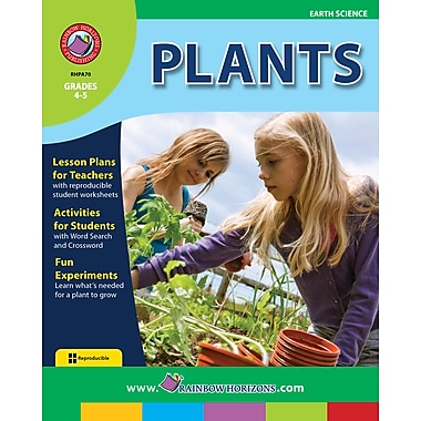 eBook: Plants , Grades 4-5 (PDF version, 1-User Download), ISBN 978-1-55319-001-1