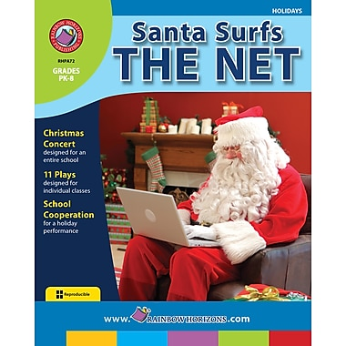 Santa Surfs the Net, Grades PK-8, ISBN 978-1-55319-107-0