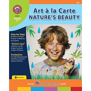 eBook: Art A La Carte: Nature's Beauty, Grades 4-7 (PDF version, 1-User Download), ISBN 978-1-55319-022-6