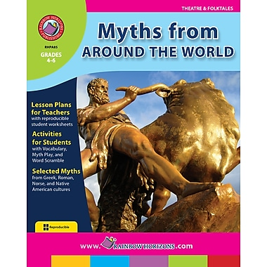 eBook: Myths From Around The World, Grades 4-6 (PDF version, 1-User Download), ISBN 978-1-55319-061-5