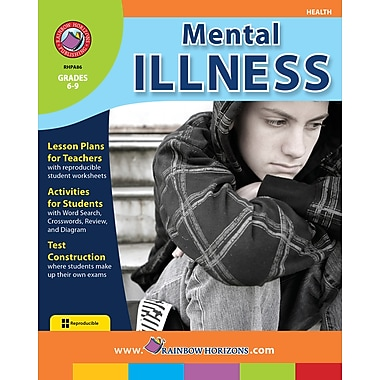eBook: Mental Illness, Grades 6-9 (PDF version, 1-User Download), ISBN 978-1-55319-350-0