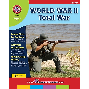eBook: World War II: Total War, Grades 7-9 (PDF version, 1-User Download), ISBN 978-1-55319-067-7
