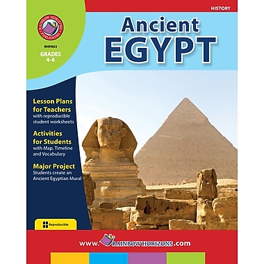 eBook: Ancient Egypt, Grades 4-6 (PDF version, 1-User Download), ISBN 978-1-55319-073-8