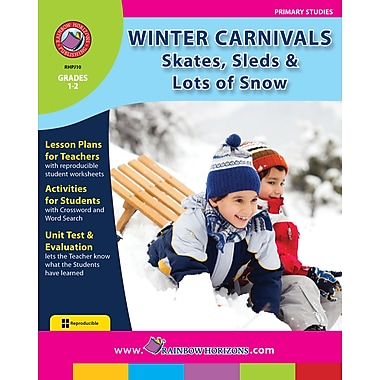 eBook: Winter Carnivals: Skates, Sleds & Lots of Snow, Grades 1-2 (PDF version, 1-User Download), ISBN 978-1-55319-180-3