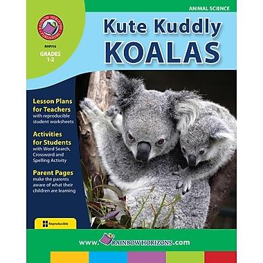 Kute Kuddly Koalas, anglais, 1re et 2e années, livre num. (téléch. 1 util.), ISBN 978-1-55319-183-4