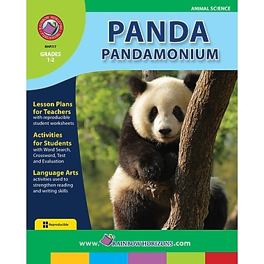 eBook: Panda Pandamonium, Grades 1-2 (PDF version, 1-User Download), ISBN 978-1-55319-184-1
