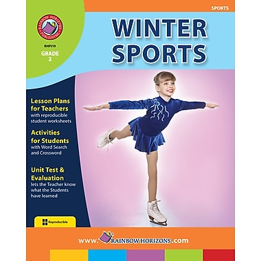 eBook: Winter Sports, Grade 2 (PDF version, 1-User Download), ISBN 978-1-55319-185-8