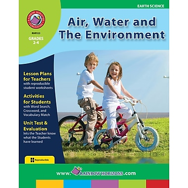 eBook: Air, Water and The Environment, Grades 2-4 (PDF version, 1-User Download), ISBN 978-1-55319-125-4