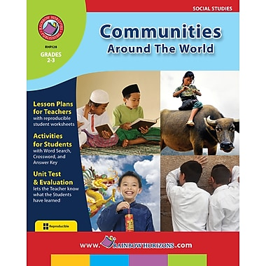 eBook: Communities Around The World, Grades 2-3 (PDF version, 1-User Download), ISBN 978-1-55319-126-1