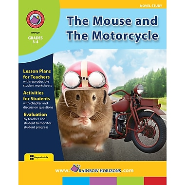 eBook: The Mouse and The Motorcycle - Novel Study, Grades 3-4 (PDF version, 1-User Download), ISBN 978-1-55319-040-0