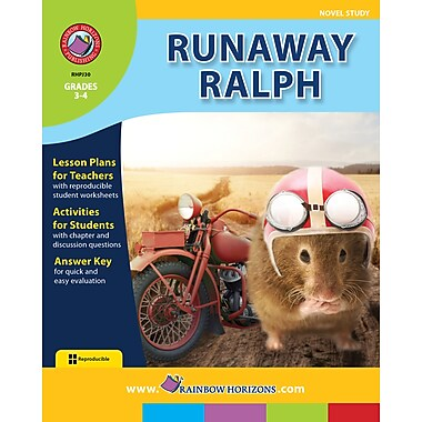 eBook: Runaway Ralph - Novel Study, Grades 3-4 (PDF version, 1-User Download), ISBN 978-1-55319-153-7