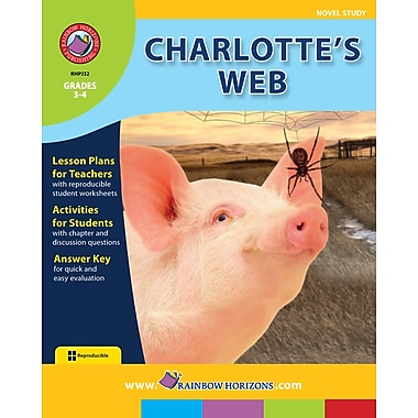 Charlotte's Web - Novel Study, Grades 3-4, ISBN 978-1-55319-037-0